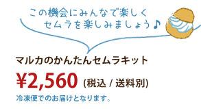 マルカのかんたんセムラキット 2560 円(税込/送料別)