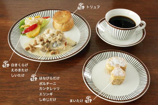 カフェイベント / きのこプレート