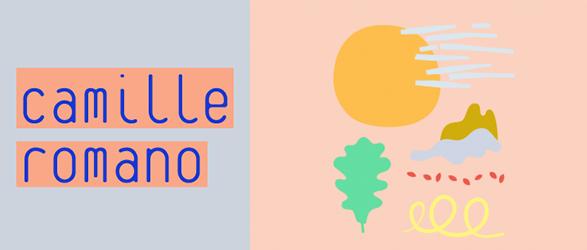 Camille Romano - 2017年カレンダー ポストカード