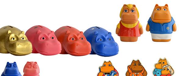 HIPPO カバの貯金箱