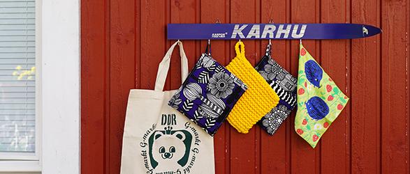 KARHU ウォールフック スキー板のアップサイクル