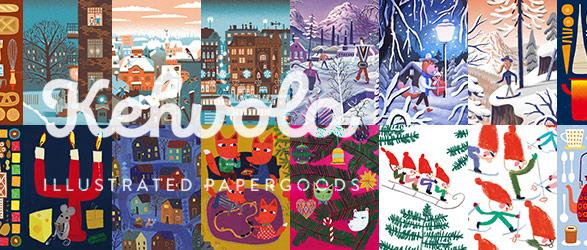 北欧 フィンランド クリスマスカード